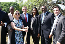 Florida Minority Impact Housing Fund and groundbreaking ceremony of Beacon Homes