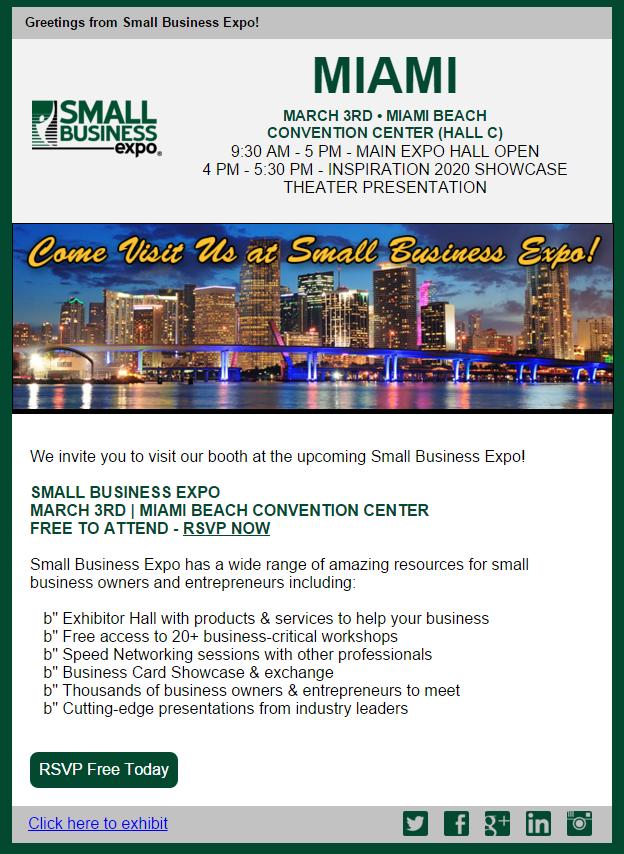 Small Business Expo Miami